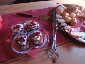 手作りケーキ各種