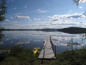 Korpikartano & Lake Menesjärvi summer