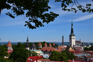 Old Town and St. Olav's Church by Tallinn City Tourist Office & Convention Bureau